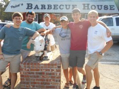 Before I left for Georgia to fly back to Texas, we ate at our semi-annual breakfast spot... Price's BBQ! So good. Both the food and the conversations, it was a great way to wrap up an encouraging visit with the Omega Chapter.