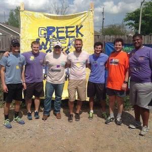LSU Greek Serve